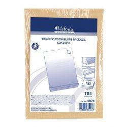 Redős-talpas tasak, TB/4, szilikonos, 50 mm talp, VICTORIA, barna gascofil 10 db/csomag