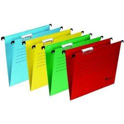 Függőmappa, karton, A4, VICTORIA, sárga 25db/doboz