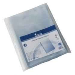 Genotherm, lefűzhető, A4, 80 mikron, víztiszta, VICTORIA 100 db/csom