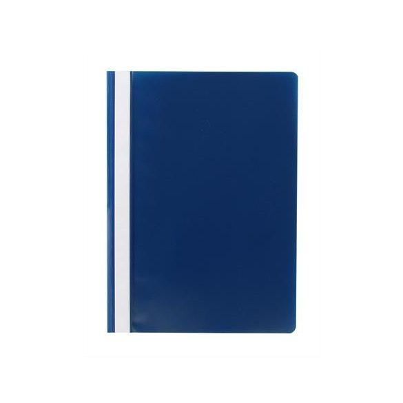 Gyorsfűző, PP, A4, VICTORIA, kék 10db/csom