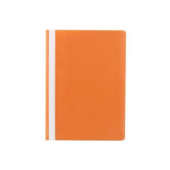Gyorsfűző, PP, A4, VICTORIA, narancssárga 10db/csom