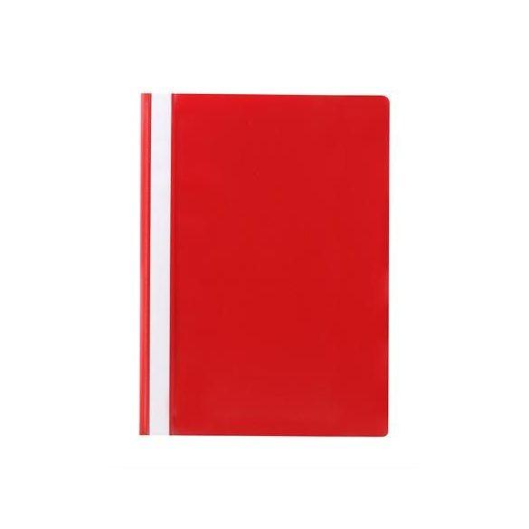 Gyorsfűző, PP, A4, VICTORIA, piros 10db/csom