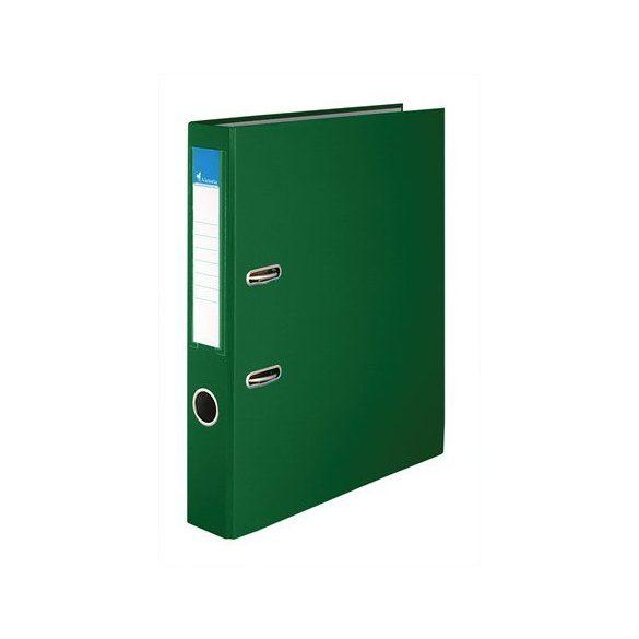 Iratrendező, 50 mm, A4, PP/karton, VICTORIA, zöld