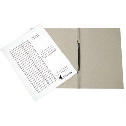 Gyorsfűző, karton, A4, VICTORIA, fehér (25 db/csom) 28,40 Ft/db+Áfa