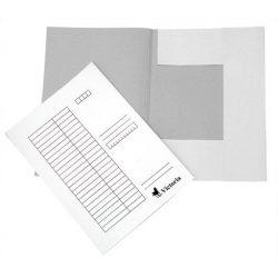 Pólyás dosszié, karton, A4, VICTORIA, fehér (25 db/csom) 32,52 Ft/db+Áfa