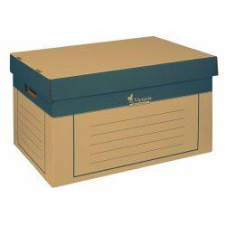 Archiváló konténer, 320x460x270 mm, karton, VICTORIA, natúr