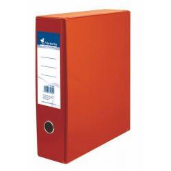 Tokos iratrendező, 75 mm, A4, karton, VICTORIA, narancs