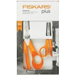 """Olló készlet, FISKARS """"Classic"""", narancssárga"""