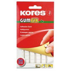 """Gyurmaragasztó, 84 kocka/csomag, KORES """"Gumfix"""""""