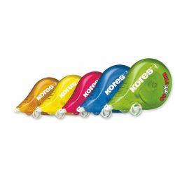 """Hibajavító roller, 4,2 mm x 8 m, KORES """"Scooter"""", vegyes színek"""