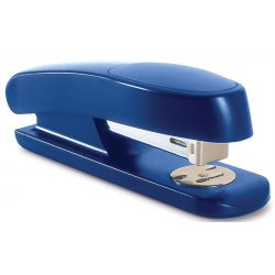 "Tűzőgép, 24/6, 26/6, 20 lap, műanyag, RAPESCO ""Sting Ray Half-Strip"", kék"