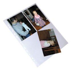 Fotógenotherm, lefűzhető, A4, 10x15 cm fényképekhez, víztiszta, 12 férőhely, VIQUEL