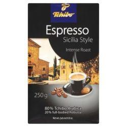 """Kávé, pörkölt, őrölt, vákuumos csomagolásban, 250 g,  TCHIBO """"Tchibo Espresso Sicilia Style"""""""