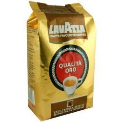Kávé, pörkölt, szemes, vákuumos csomagolásban, 1000 g,  Lavazza ORO