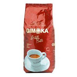 Kávé, pörkölt, szemes, vákuumos csomagolásban, 1000 g,  Gimoka Gran Bar piros