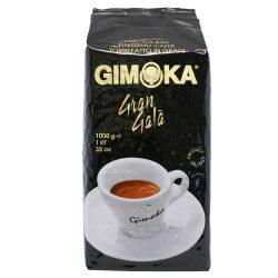 Kávé, pörkölt, szemes, vákuumos csomagolásban, 1000 g,  Gimoka Gran Gala fekete