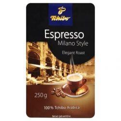 """Kávé, pörkölt, őrölt, vákuumos csomagolásban, 250 g,  TCHIBO """"Tchibo Espresso Milano Style"""""""