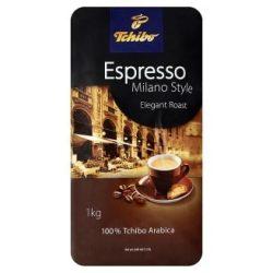 """Kávé, pörkölt, szemes, vákuumos csomagolásban, 1000 g,  TCHIBO """"Tchibo Espresso Milano Style"""""""