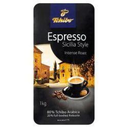 """Kávé, pörkölt, szemes, vákuumos csomagolásban, 1000 g,  TCHIBO """"Tchibo Espresso Sicilia Style"""""""
