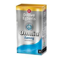 """Kávé, pörkölt, őrölt, vákuumos csomagolásban, 250 g,  DOUWE EGBERTS """"Omnia Evening"""", Koffeinmentes"""