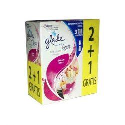 Glade by Brise One Touch utt.2+1 30ml Japán kert