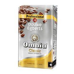 """Kávé, pörkölt, szemes, vákuumos csomagolásban, 1000 g,  DOUWE EGBERTS """"Omnia"""" Classic"""