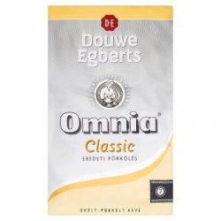 """Kávé, pörkölt, őrölt, vákuumos csomagolásban, 1000 g,  DOUWE EGBERTS """"Omnia"""" Classic"""