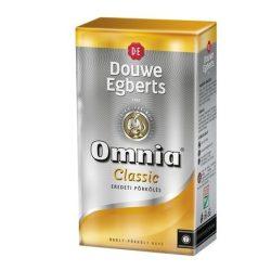 """Kávé, pörkölt, őrölt, vákuumos csomagolásban, 250 g,  DOUWE EGBERTS """"Omnia"""" Classic"""