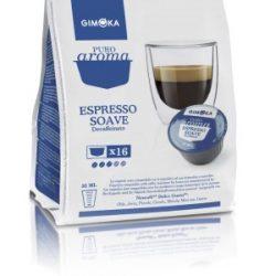 Gimoka Kapszula Dolce Gusto kompatibilis Espresso Soave Dek 16db