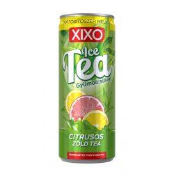 XIXO Ice tea citrusos zöld tea 250 ml