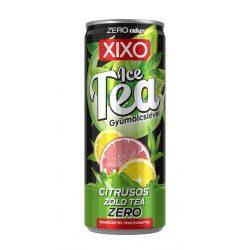XIXO Ice tea citrusos zöld tea ZERO 250 ml