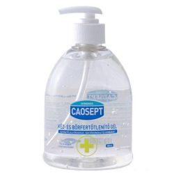 Caosept Víz nélküli kézfertőtlenítő gél (átlátszó) 500 ml