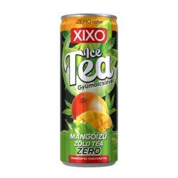 XIXO tea zöld tea mangó ZERO 250 ml