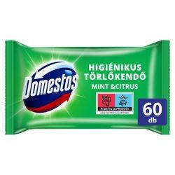 Domestos higiénikus törlőkendő 60db Mint&citrus