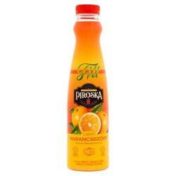 """Szörp, light, 0,7 l, PIROSKA """"Fitt"""", narancs"""