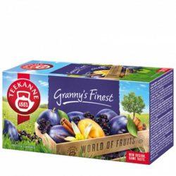 """Gyümölcstea 20x2,5 g, TEEKANNE """"Granny Finest"""", szilvás-fahéjas"""