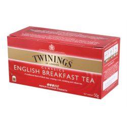 """Fekete tea, 25x2 g, TWININGS """"English Breakfast"""""""
