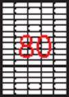 Etikett, univerzális, 35,6x16,9 mm, eltávolítható, kerekített sarkú, APLI, 2000 etikett/csomag