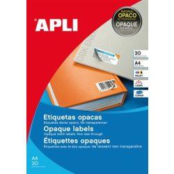 Etikett, 25,4x10 mm, felülcímkézéshez (tökéletes fedés), 3780 etikett/csomag