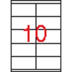 Etikett, univerzális, 105x57 mm, APLI, 1000 etikett/csomag