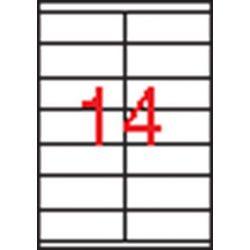 Etikett, univerzális, 105x40 mm, APLI, 1400 etikett/csomag