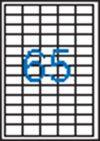 Etikett, univerzális, 38x21,2 mm, VICTORIA, 6500 etikett/csomag