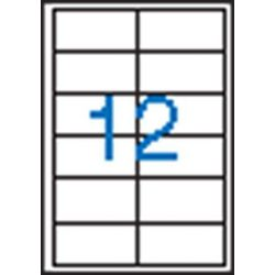 Etikett, univerzális, 97x42,4 mm, VICTORIA, 1200 etikett/csomag