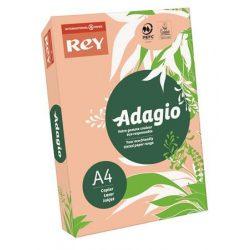 """Másolópapír, színes, A4, 80 g, REY """"Adagio"""", intenzív barack"""
