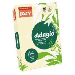 """Másolópapír, színes, A4, 80 g, REY """"Adagio"""", pasztell csontszín"""