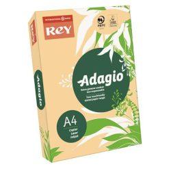 """Másolópapír, színes, A4, 80 g, REY """"Adagio"""", pasztell lazac"""