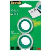 """Ragasztószalag, 19 mm x 7,5 m, 3M SCOTCH """"Magic tape"""""""