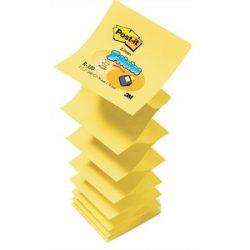 """Öntapadó jegyzettömb, """"Z"""", 76x76 mm, 3M POSTIT, sárga"""
