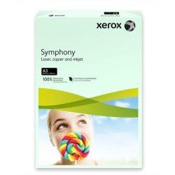 """Másolópapír, színes, A3, 80 g, XEROX """"Symphony"""", világoszöld (pasztell)"""