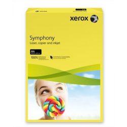 """Másolópapír, színes, A4, 80 g, XEROX """"Symphony"""", sötétsárga (intenzív)"""